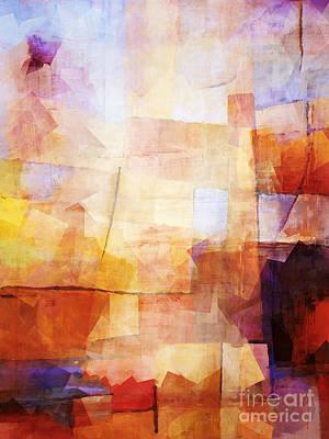 Meditate Mixed Media - Vintago by Lutz Baar
