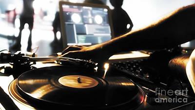 Mixed Media - Vinyl Record by Marvin Blaine
