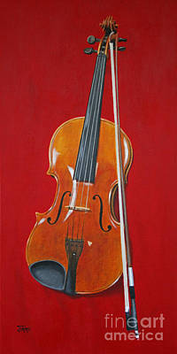Viola Art Print by Jimmie Bartlett