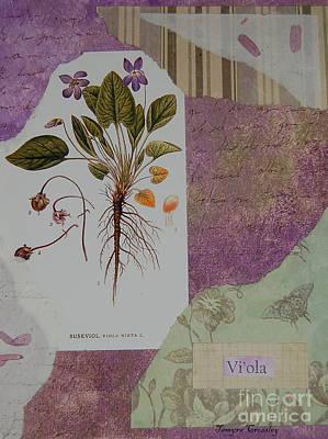 Painting - Viola by Tamyra Crossley
