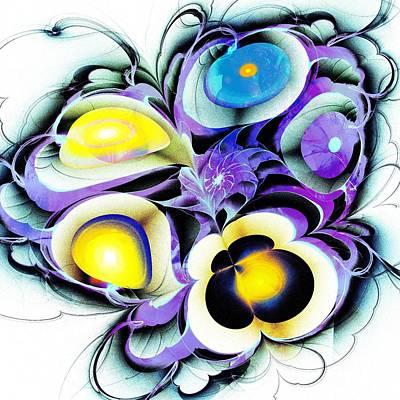Viola Tricolor Art Print by Anastasiya Malakhova