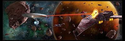 Klingon Wall Art - Photograph - Violent Frontier by Dan Richelieu