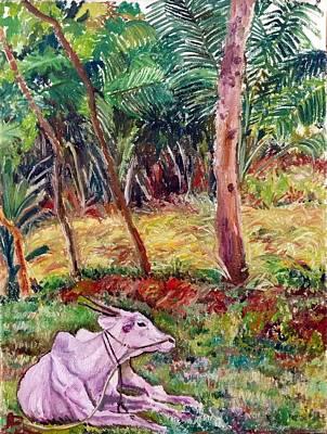 Painting - Violet by Aditi Bhatt