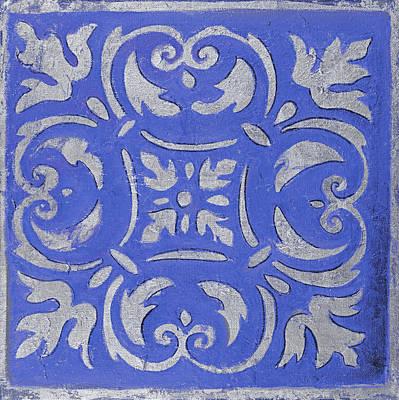 Violet Mosaic Art Print