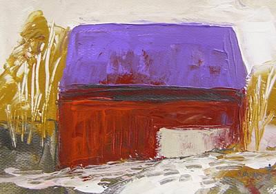 Violet Roof Art Print by John Williams
