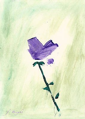 Violet Solo Art Print