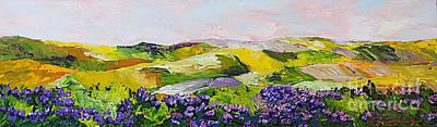 Violet Sunrise Print by Allan P Friedlander