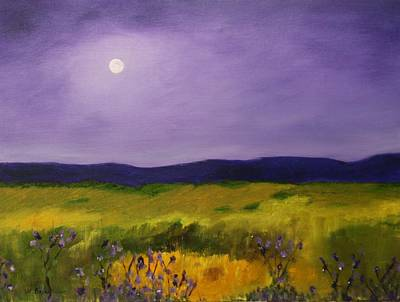 Painting - Violet Sunrise by W William Brown Jr