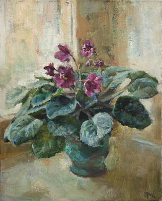 Violet Painting - Violet by Victoria Kharchenko
