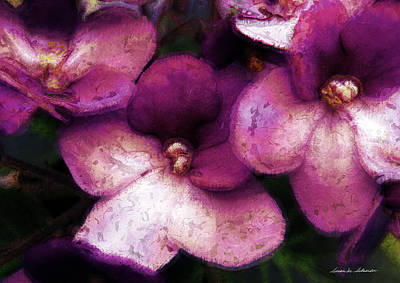 Painting - Violets No. 2 by Susan Schroeder