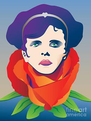 Verdi Wall Art - Digital Art - Violetta Of La Traviata by Joe Barsin