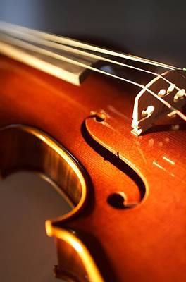 Violin Photograph - Violin Vi by Jon Neidert