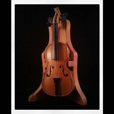 Violin Wall Art - Photograph - #violin by Miguel Alvarado