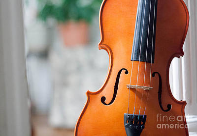 Photograph - Violin by Valerie Morrison