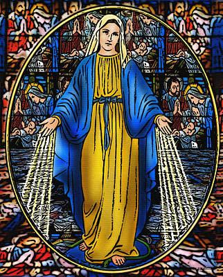 Photograph - Virgen De La Milagosa by Bibi Rojas