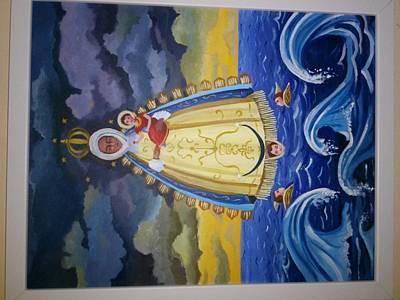 Virgen De Regla Original by Daniel  Dominguez