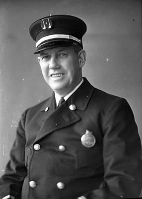 Comiskey Photograph - Virgil Bowen Century Of Progress Fireman Worlds Fair Chicago by Retro Images Archive
