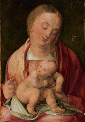 Painting - Virgin And Child by Albrecht Duerer