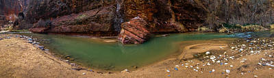 Zion National Park Photograph - Virgin Bend by Chad Dutson