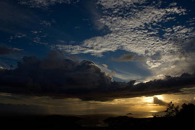 Sky Photograph - Virgin Islands Sunset by Jared Shomo
