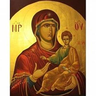 Virgin Mary Icons Original by Marian Moncea