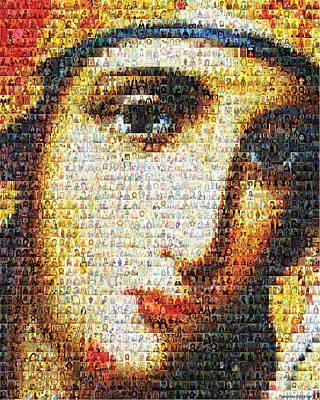 Virgin Mary Original by Temur Lursmanashvili