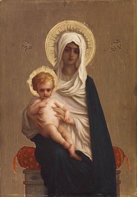 Deliverance Painting - Virgin Of The Deliverance by Ernest Hebert