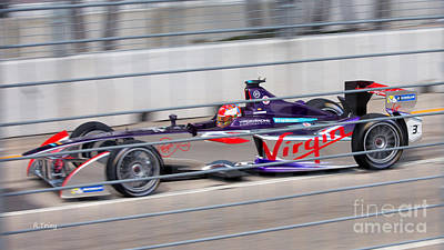 Photograph - Virgin Race Team Eprix II by Rene Triay Photography