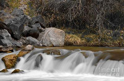 Zion National Park Photograph - Virgin River In Zion National Park by Rincon Road Photography By Ben Petersen