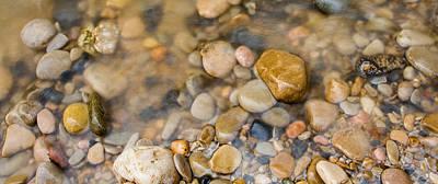 Virgin River Pebbles Original by Adam Pender