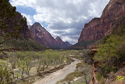 Photograph - Virgin River Spring by Kenneth Hadlock