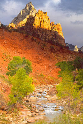 Photograph - Virgin River Sunrise by Judi Baker