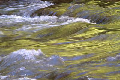 Photograph - Virgin River Zion by David Patricia Beebe