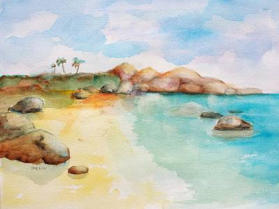 Painting - Virgin Rocks by Carlin Blahnik