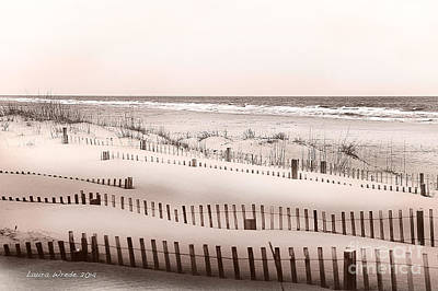 Virgina Beach Vacation Memories Art Print by Artist and Photographer Laura Wrede