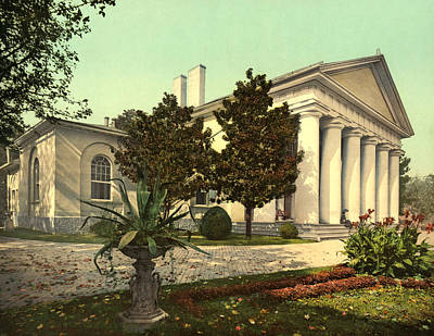 1900 Architecture Painting - Virginia Arlington House by Granger