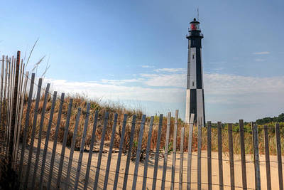 Cape Henry Lighthouse Photograph - Virginia Beach by JC Findley