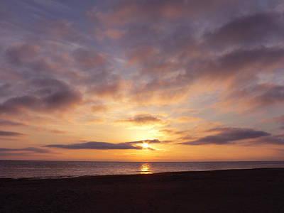Photograph - Virginia Beach Sunrise by Jean Wright