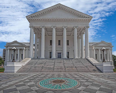 Virginia Capitol Art Print