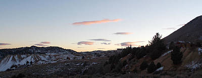 Photograph - Virginia City Clouds  by Brent Dolliver