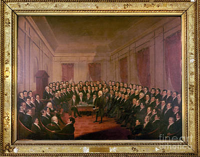 Virginia Convention 1829 Art Print by Granger
