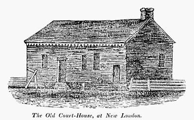 Virginia Court House Art Print by Granger