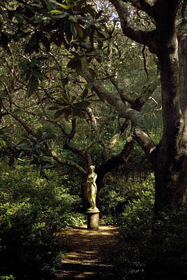 Art Print featuring the photograph Virginia Dare Statue by Greg Reed