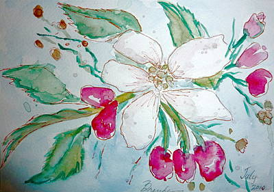 Painting - Virginia Dogwood by Brenda Ruark