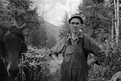 Depression Painting - Virginia Man, 1935 by Granger