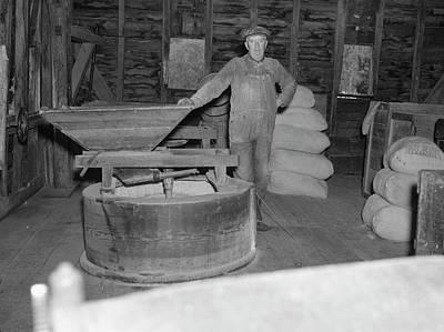 Virginia Mill, 1935 Art Print by Granger
