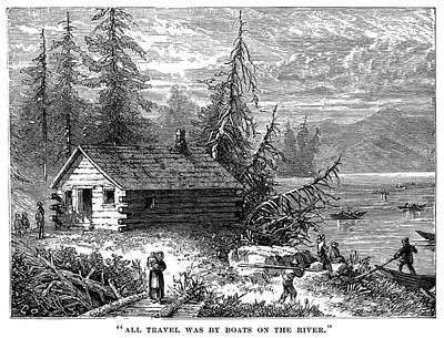 Painting - Virginia Settlement by Granger