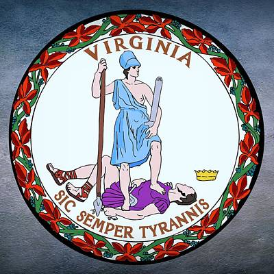 Virginia State Seal Art Print
