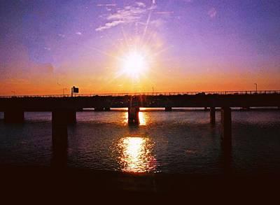 Photograph - Virginia Sunset by Gary Wonning