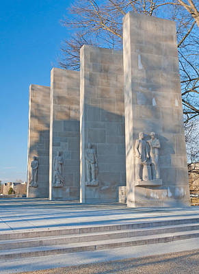 Photograph - Virginia Tech War Memorial by Melinda Fawver